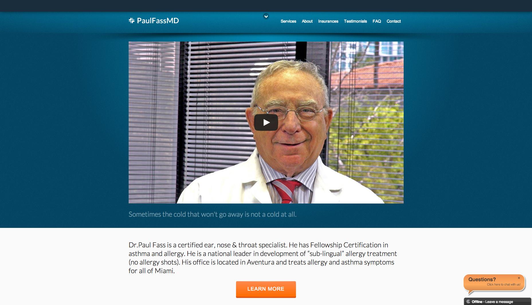 Paul Fass MD 1